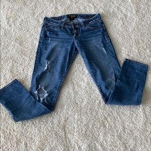 Lucky Brand Jeans - Lucky Brand distressed Lola Skinny Jeans